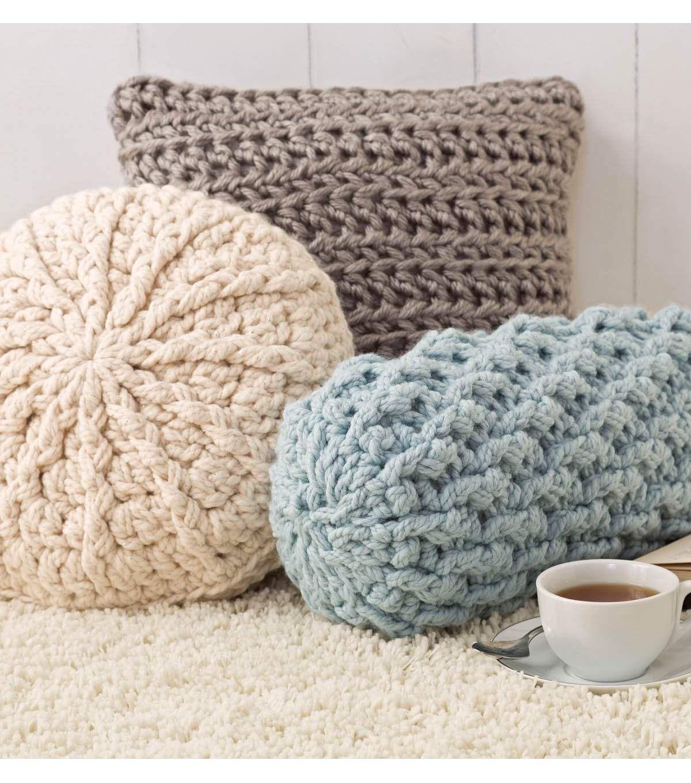 Cozy Crochet Pillows | love it | Pinterest | Rizos perfectos ...