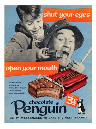 Image result for 1940s penguin biscuits