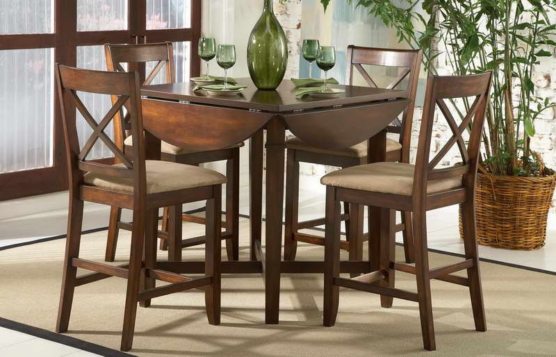 Small Dinette Sets | Where To Buy Small Dining Room Sets With Green Vase