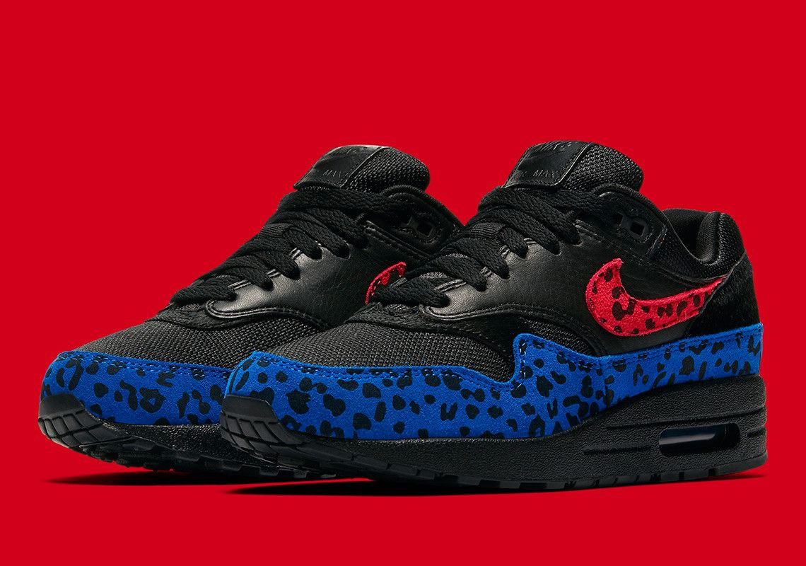 10328f9f3a8 The Nike Air Max 1 Premium Leopard Releases On March 1st