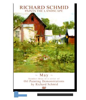 Another wonderful Richard Schmid video painting en Plein