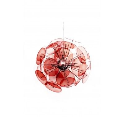 Amari Pendant Lamp in Red 70.00GBP  Matching table and floor lamps also available