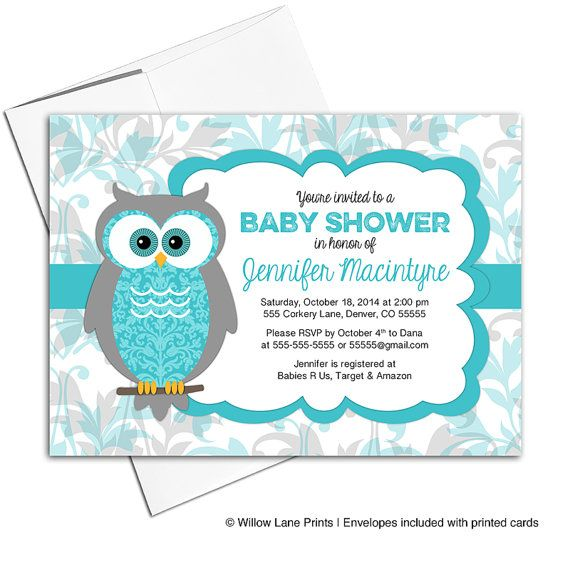 Gender Neutral Baby Shower Invites