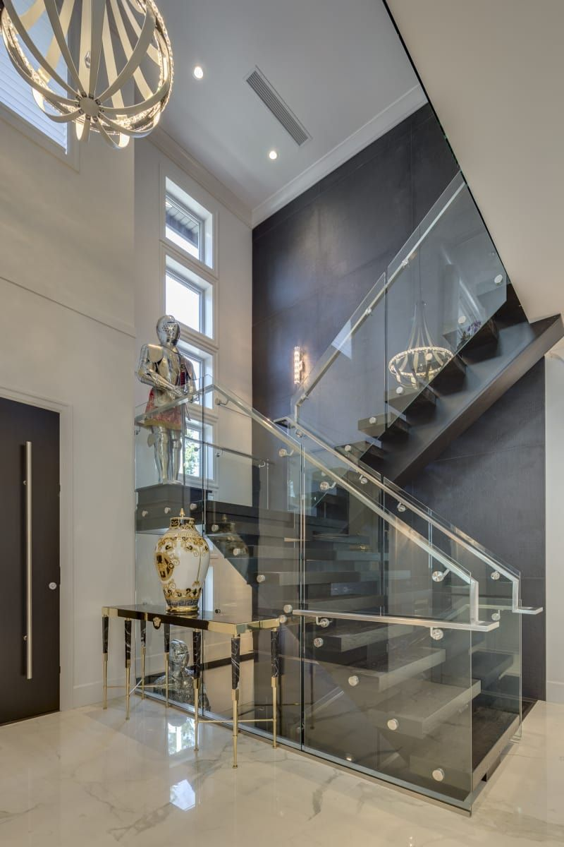 Rise Lookbook Executive Elegance Staircase House Interior