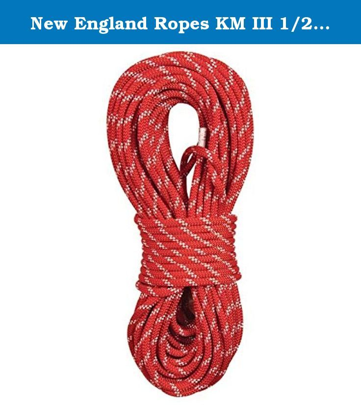 New England Ropes Km Iii 1 2 X 300 Red 3301 16 00300 Built To The Exacting En1891 Standard For Static Ropes Kmiii Is The Industr Rope Static Rope Rope Cord