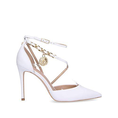 White 39Chaussures Guess Fl5bri Decolleté Lea08 Femme Blanc n0vN8mw