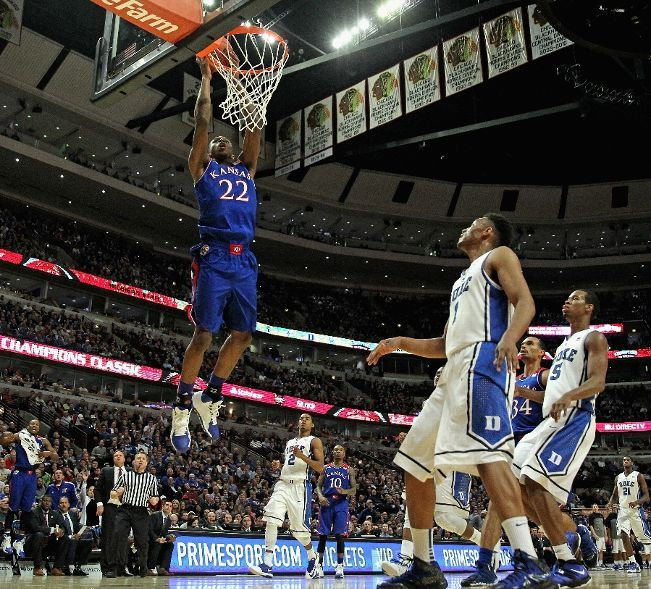 Kansas Jayhawks vs. Duke Blue Devils Photos November