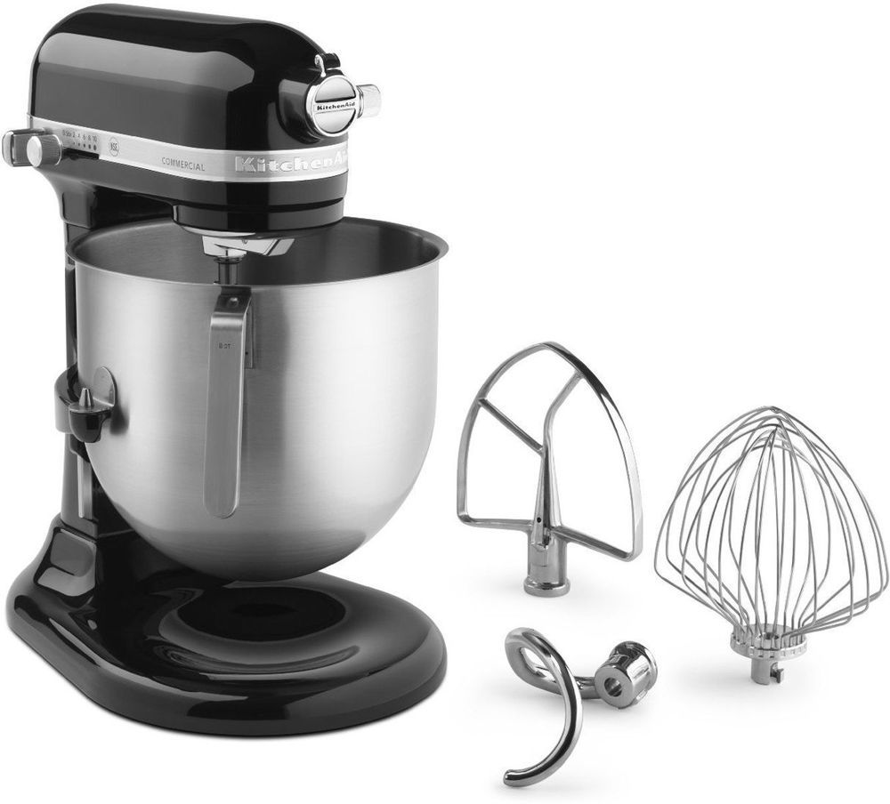 8quart stand mixer with bowl lift kitchen aid onyx