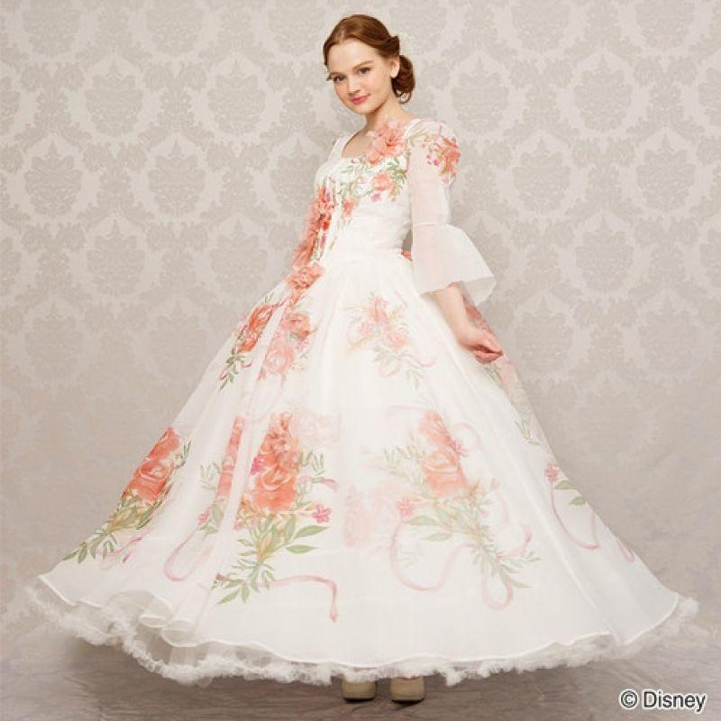 Easy Beauty And The Beast Wedding Dress