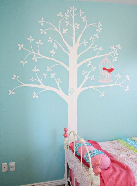 tree wall painting teen girl room. Wall Color For K\u0027s Room! Tree Painting Teen Girl Room U