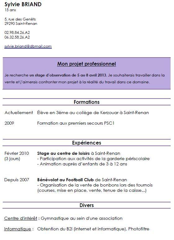 Modele Cv Pour Contrat D Apprentissage Modeles De Lettres Modele Cv Stage