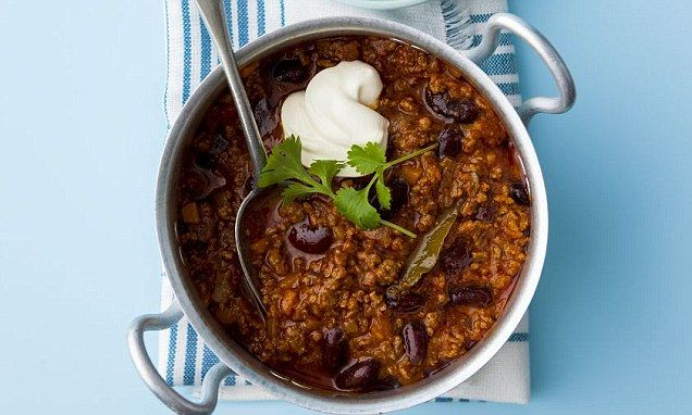 Get in shape for Christmas: Skinny chilli con carne