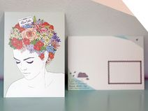 alles liebe Postkarte