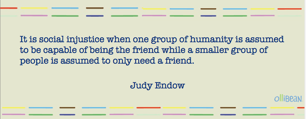 002 Autistics Can BE Friends by Judy Endow Friendship essay