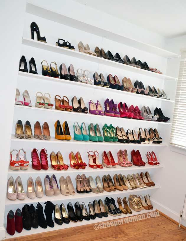 Lovely I Bought My First House For The Master Closet And Its Ability To  Accommodate All Of. Shoe Storage SolutionsStorage ...