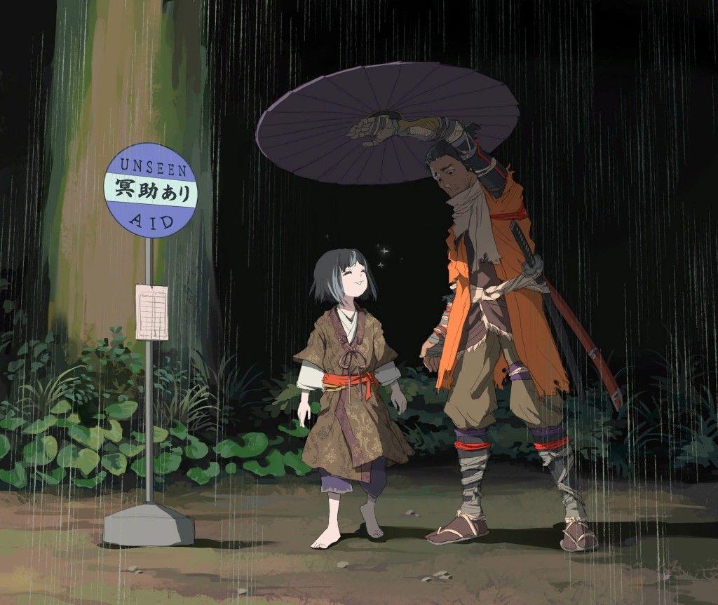 Sekiro shadow die twice Dark souls art, Bloodborne art