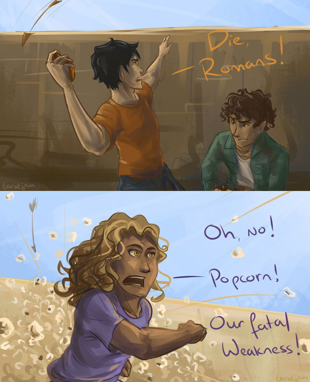 Libros Xd Good One Hazel Xd Popcorn By Taratjah Deviantart On