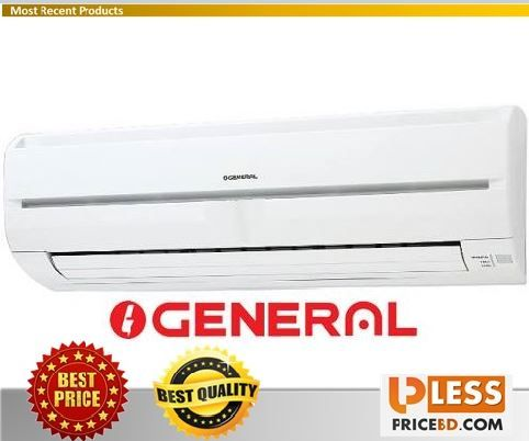 Review And Specification Of General Asg12a 1 Ton Wall Mounted Split Type Ac Less Price Bd Www Lesspricebd Com Largest B Wall Mount Electronic Shop Wall