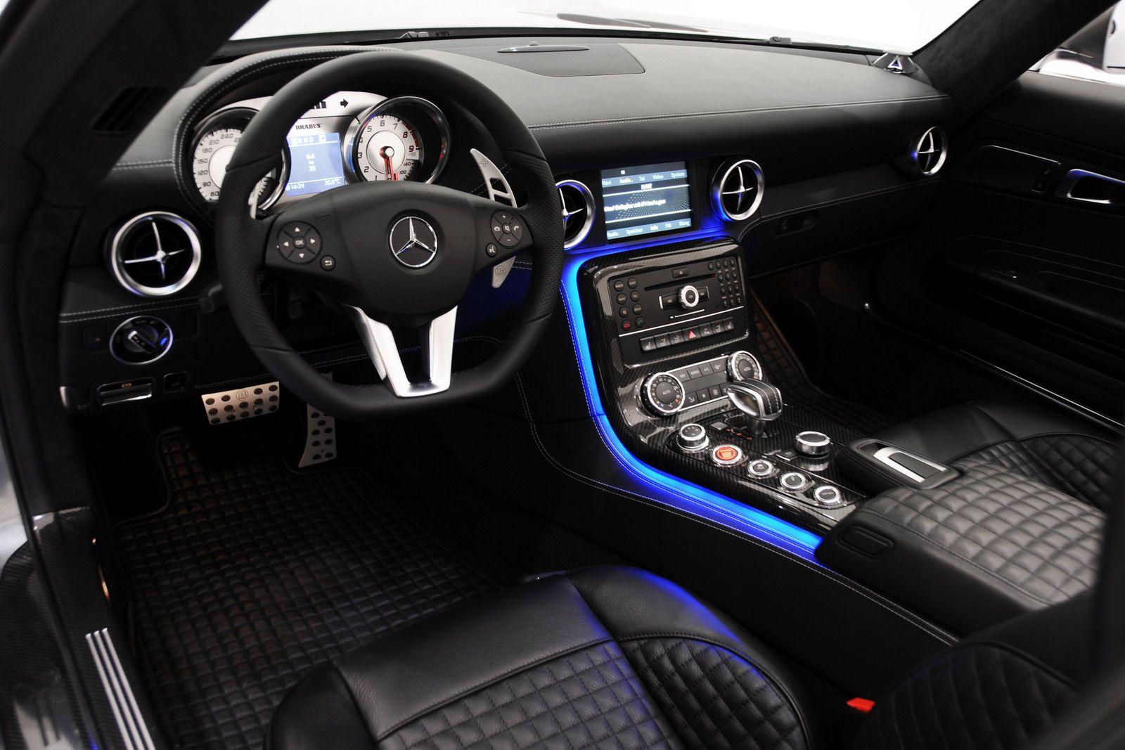 brabus unleashes 611hp mercedes benz sls amg roadster the - Mercedes Benz Sls Amg Interior