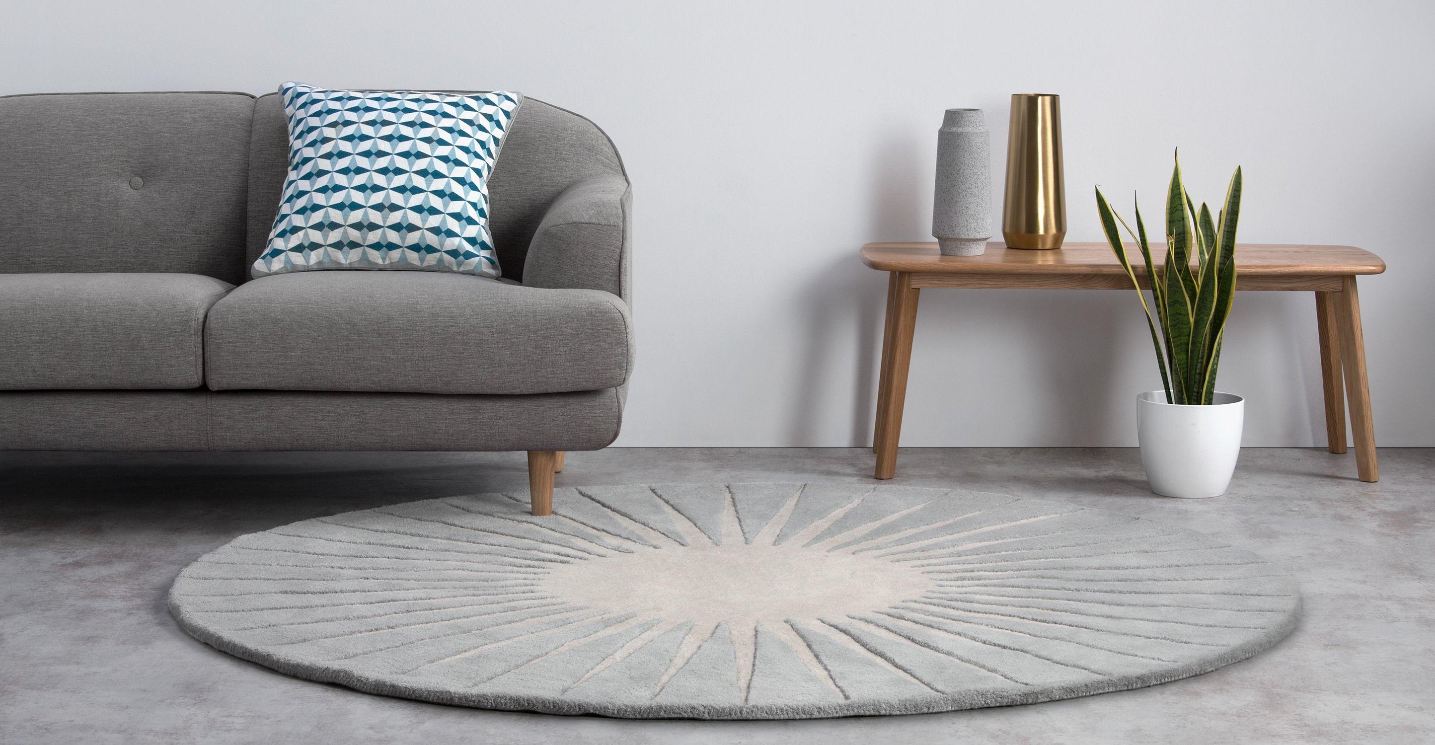 Runde Teppiche runde teppiche 200 cm dekoration ideen