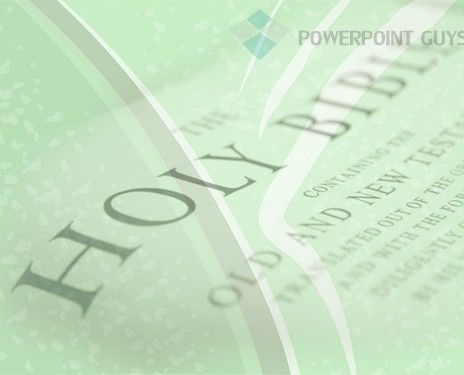 Holy Bible PowerPoint Slide Template Religious PowerPoint - religious powerpoint template