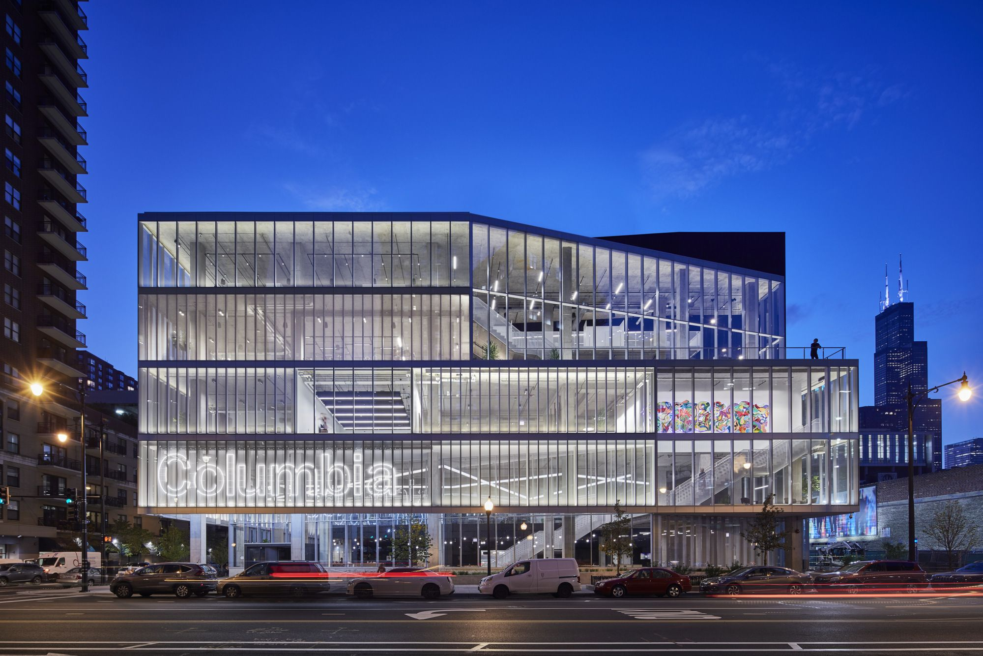 Gensler was tasked with bringing the first ever student