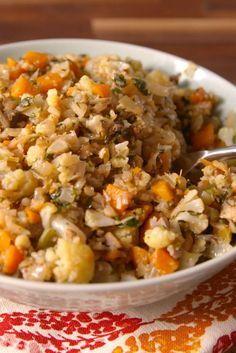 Best Ever Cauliflower Stuffing Recipe Stuffing Recipes Food