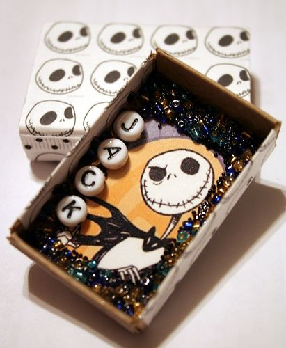 Nightmare before Christmas - Matchbox  art