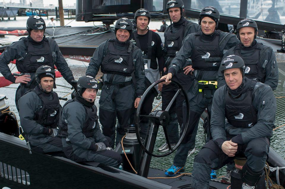 Emirates Tean New Zealand : The Dalton Gang Rides again | 45