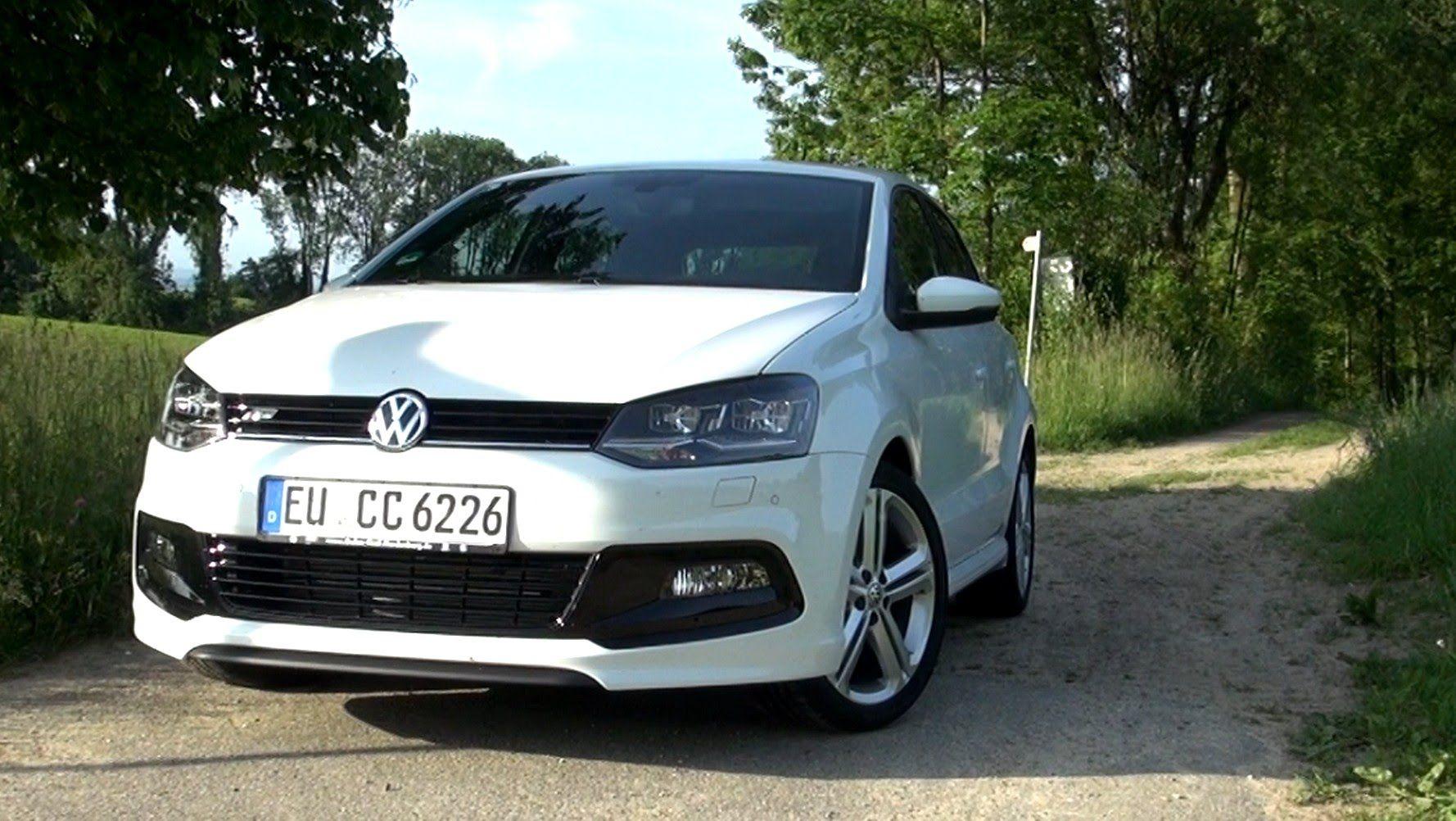 2015 Vw Polo 1 2 Tsi R Line 110 Hp Test Drive Volkswagen Polo Vw Polo Volkswagen