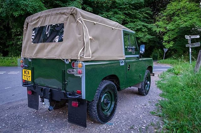 Class. Clean. Classic. By David Smith #landrover #series3 #serieslandrover #landroverphotoalbum