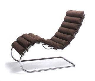 Mr Chaise Lounge Chair Mimari Cizimler