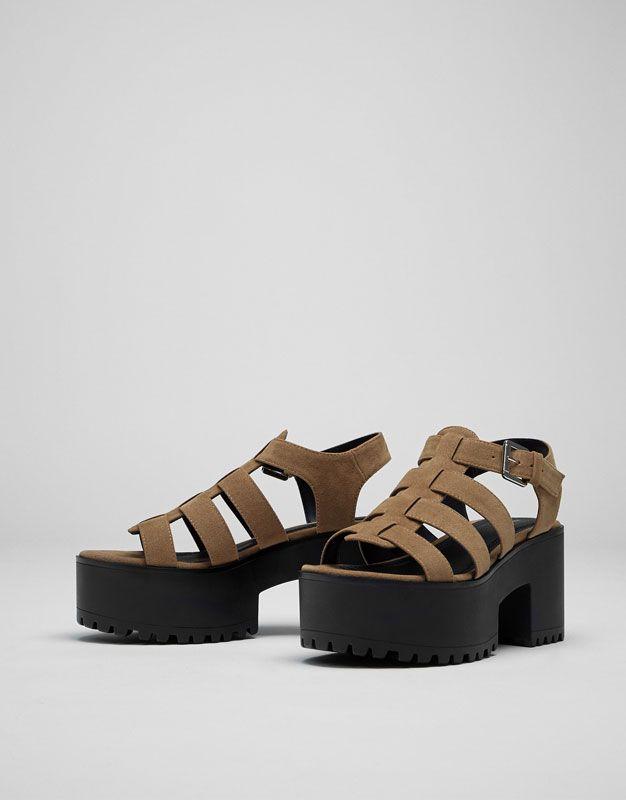 09eddeb0 Cangrejera Pull and Bear | Moda en 2019 | Zapatos, Zapatos mujer y ...