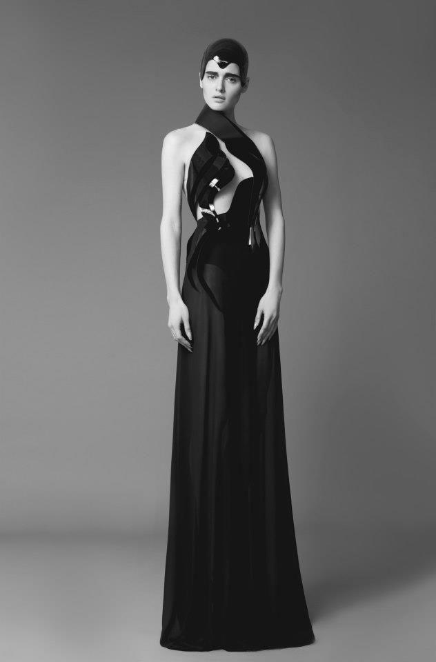 ALON LIVNE Photography by Dudi Hasson  Makeup Itzik Vakil Hair Dekel Ben Zion Model(s) Anya Martirosov @Mc2 Models