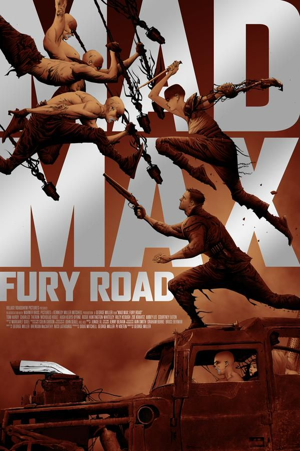High Quality Prints Mad Max Fury Road Movie Poster