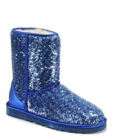 fish pattern ugg sparkle boot blue sequin gifts for my sprite lily rh pinterest com