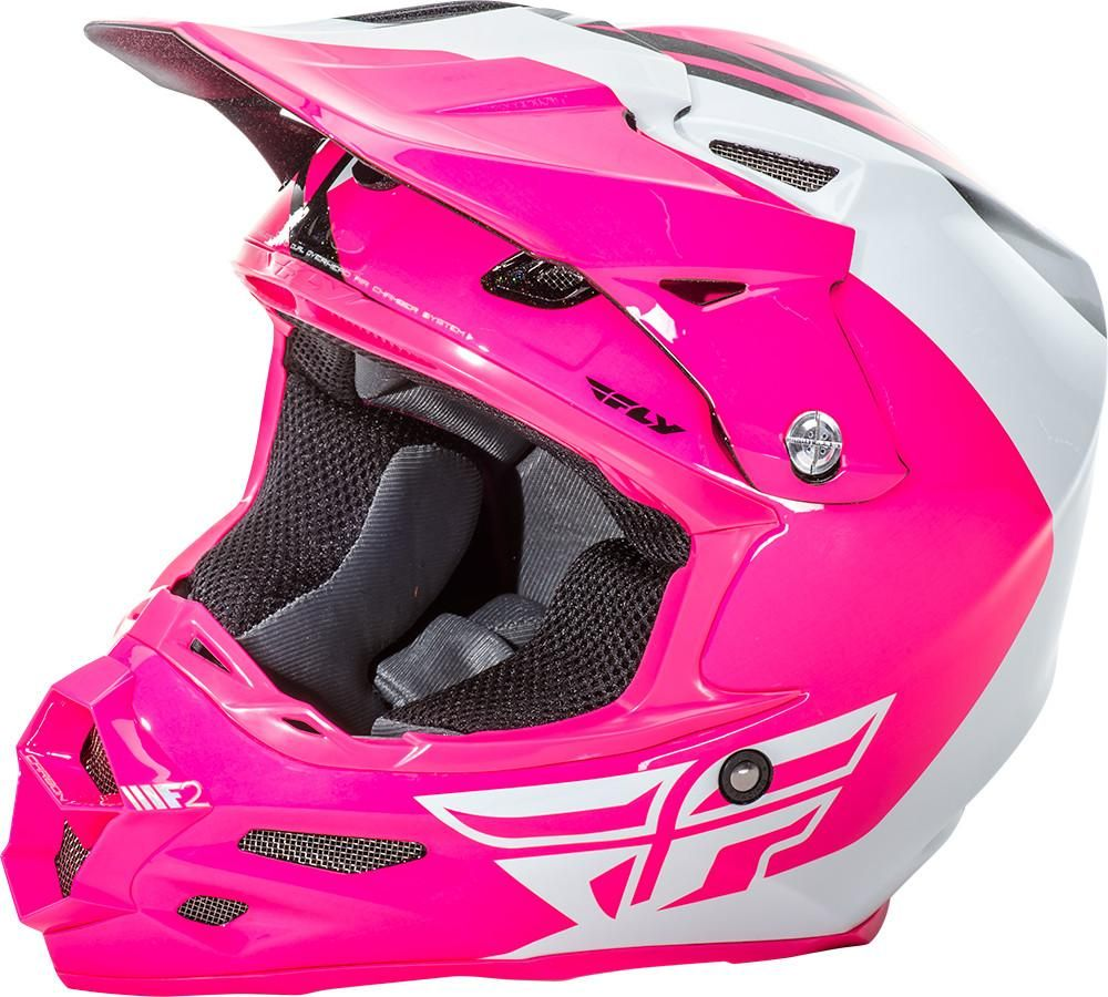 F2 Carbon Pure Helmet Pink White Black Pink Dirt Bike Dirt Bike Helmets Motocross Helmets