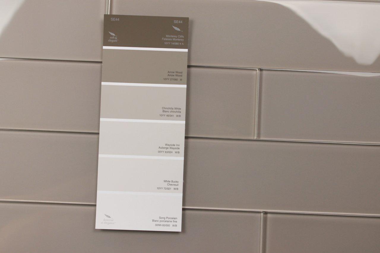 Gl Gray Subway Tile Zen 3x12 Warm Kitchen Bathroom Design Bodesi 07