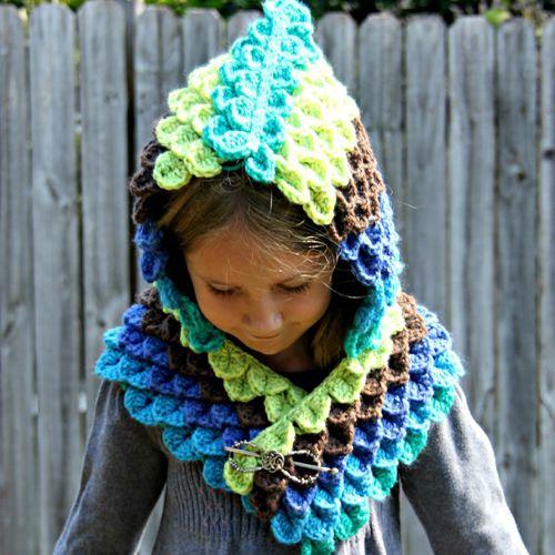 Peacock Hood Free Pattern Crochet For Children Free Pattern