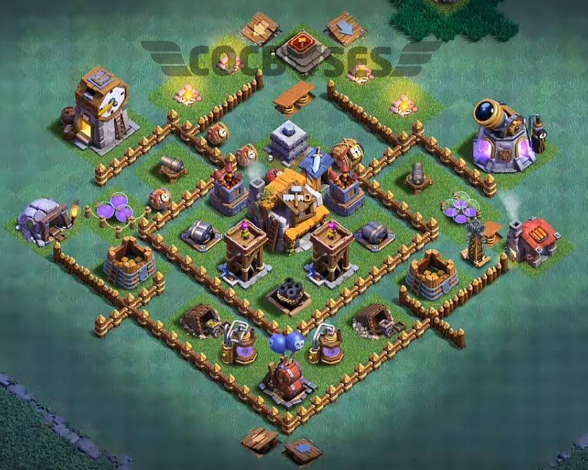 14 Best Builder Hall 5 Base Links 3500 Cups Anti 1 Star Layout Builder Hall