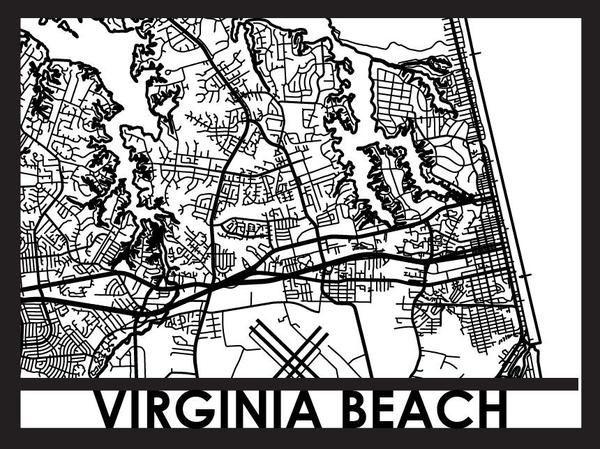 Virginia Beach - Cut Maps