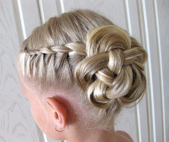 Children Wedding Hair Style: Kids Wedding
