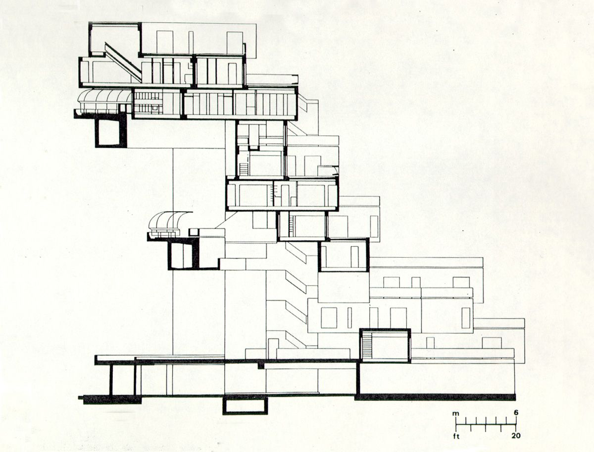 Habitat 67 Cube Housing In Montreal Habitats Architecture Drawing Brutalist Architecture