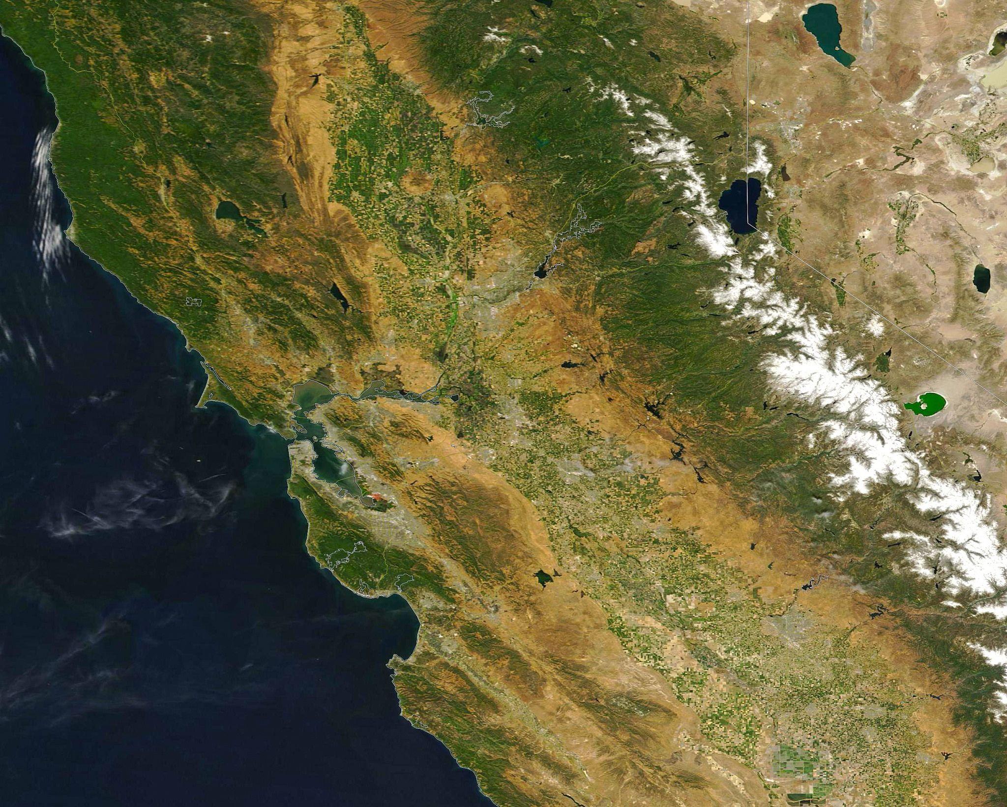 California Quake Map Usgs%0A https   flic kr p WirGTG   Central California in the
