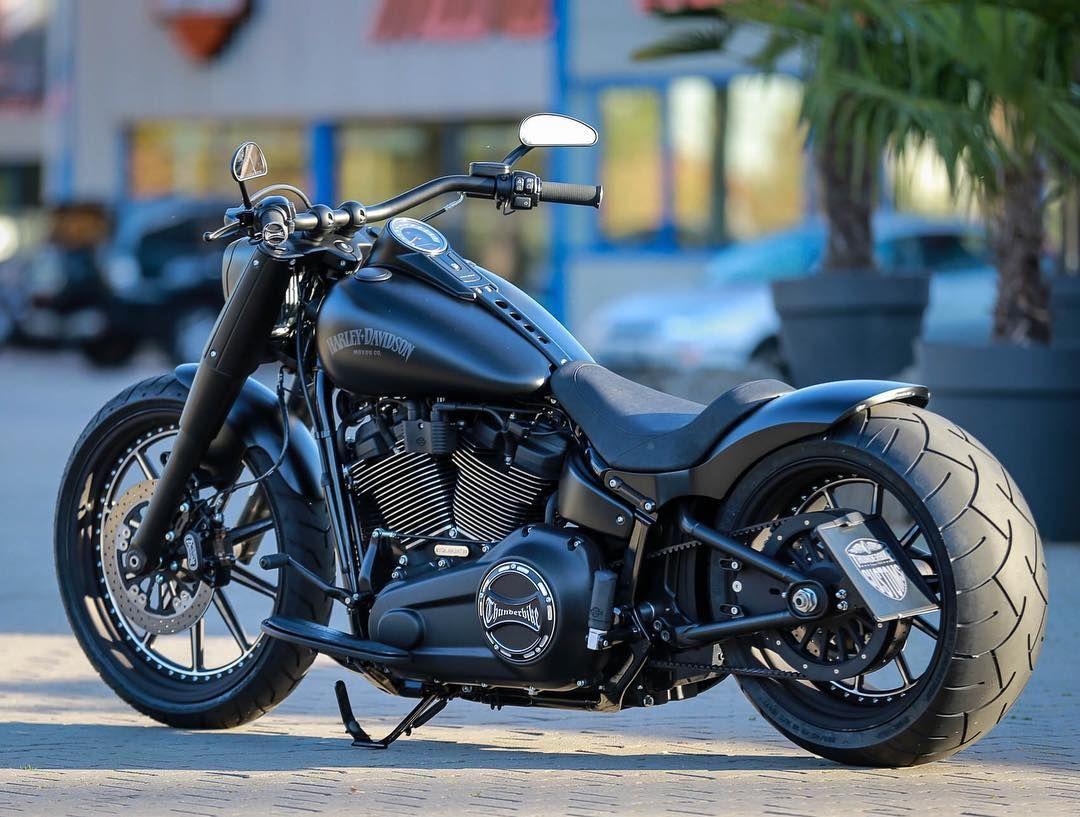 Hunderbike Dark Dude Harley Davidson Softail Fatboy The