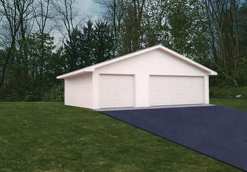 30 X 32 X 8 3 Car Garage At Menards Garage Floor Plans Side Hinged Garage Doors Garage