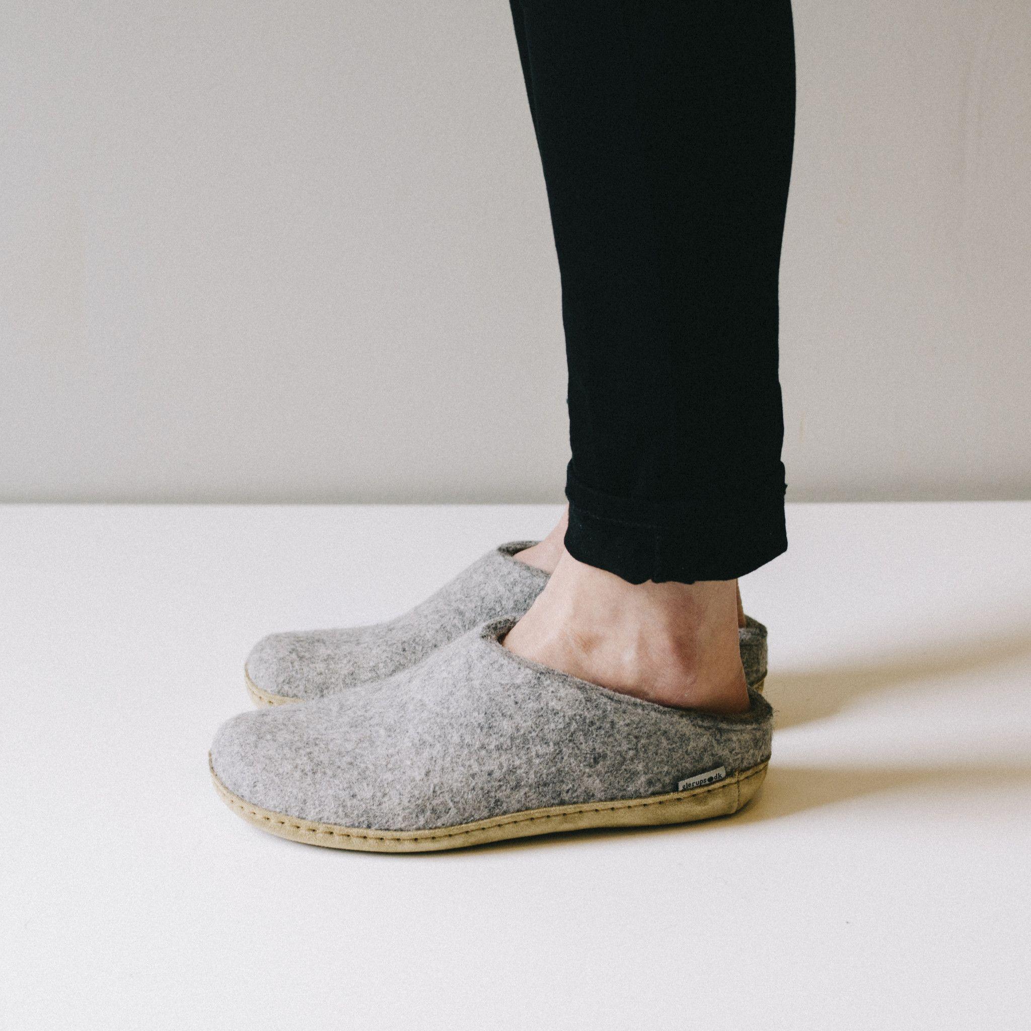 bac1d6797ef6 Glerups wool house shoe