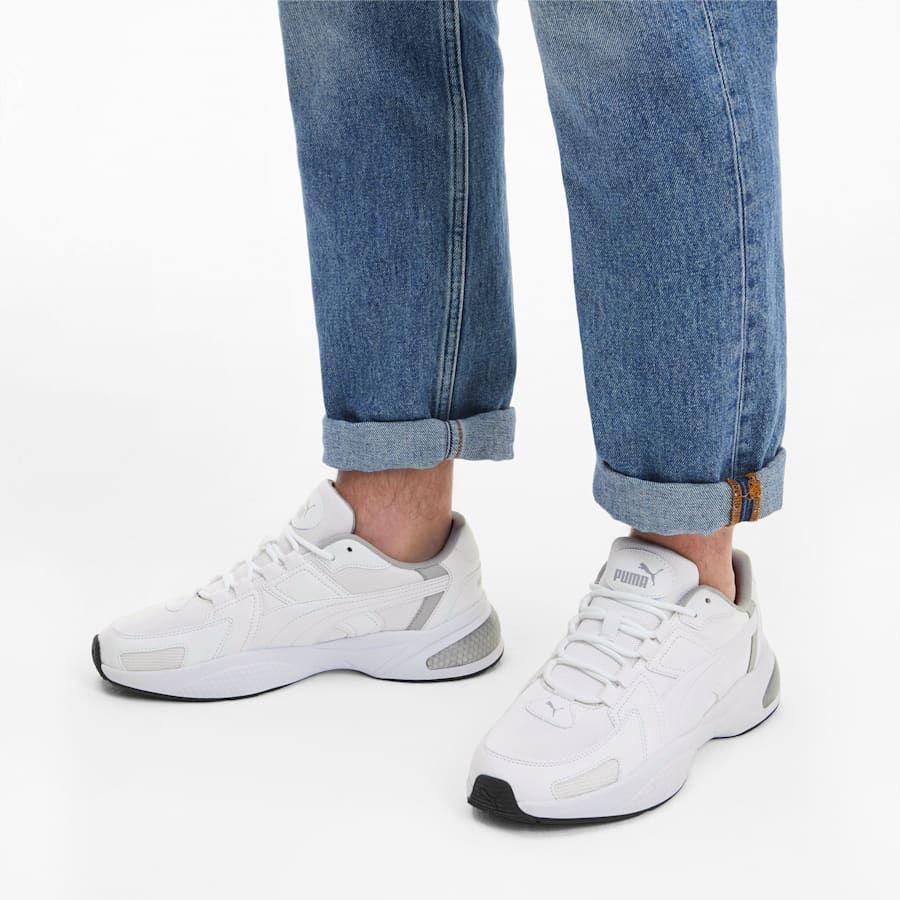 PUMA Ascend Trainers in Grey size 3.5 | Low boots, Puma cat