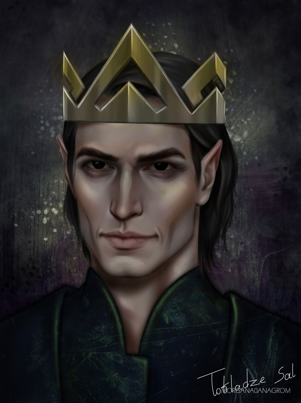 King Of Hybern By Morgana0anagrom Acomaf Acowar Sarah J Maas