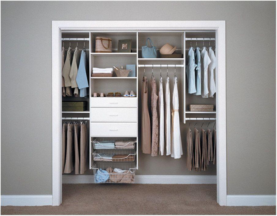 Easy Reach In Closet Organizers Closet organizing
